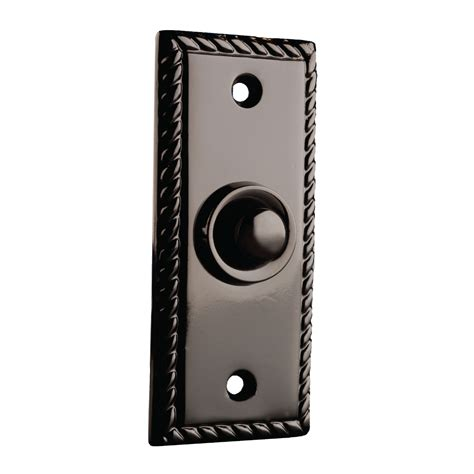 door bell button byron doorbells 2205 georgian recessed bell push doorbell