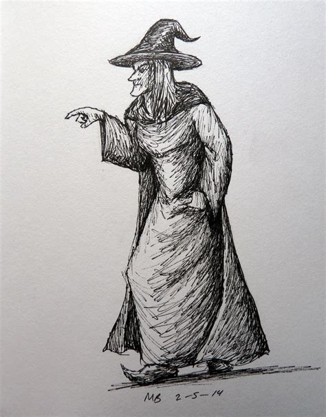 Wicked Witch Drawings