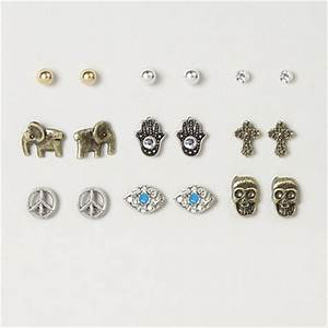 Assorted Peaceful Vibes Stud Earrings – from claire's ...