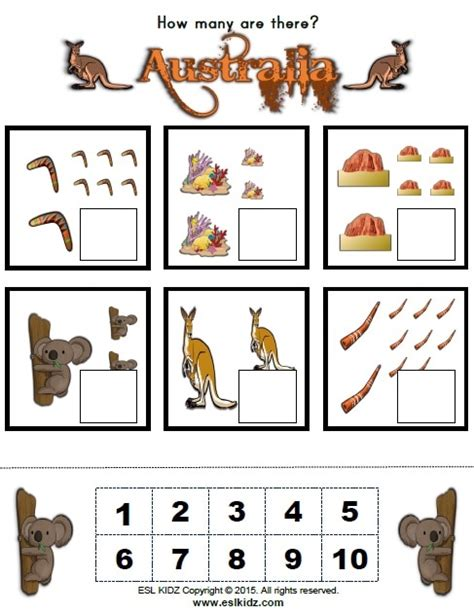 australia worksheets activities games  worksheets