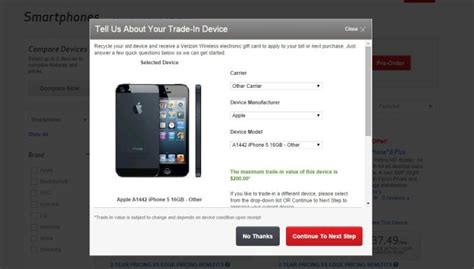 verizon iphone 6 deal iphone 6 trade in deals compared