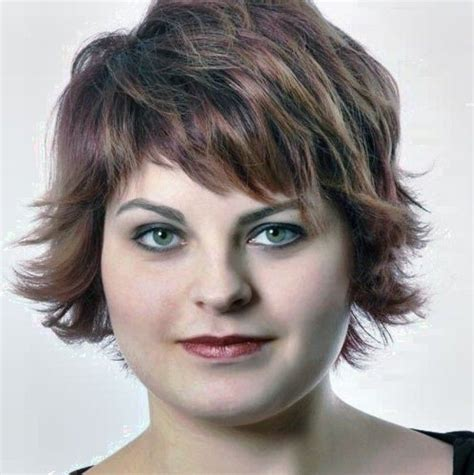 short hairstyles  fat women   hairstyles
