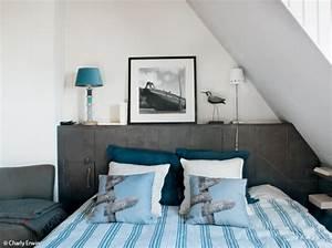 Deco Bord De Mer : d coration chambre esprit bord de mer ~ Dode.kayakingforconservation.com Idées de Décoration