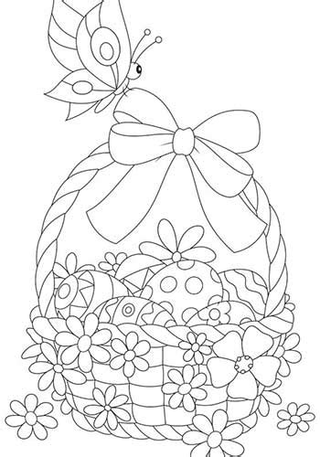 Free Printable Easter Coloring Pages For Adults