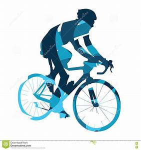 Bicycle Race, Abstract Vector Cyclist, Cycling Stock ...