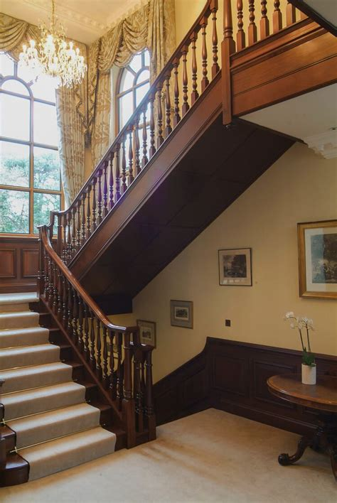 century georgian style staircases  panelling