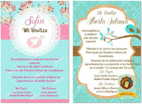 pin de luis munoz en invitaciones bautizos invitaciones bautizo tarjeta de bautizo y invitaciones