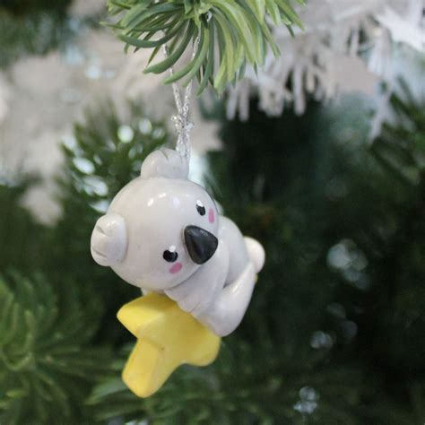 decoration de sapin koala christmas ornament pate