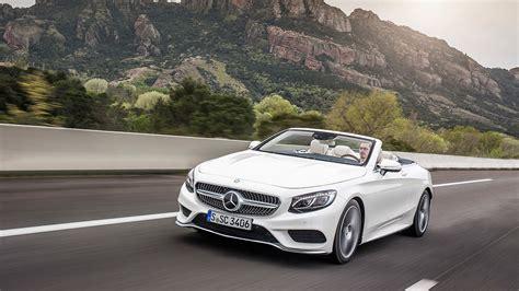 The New Mercedesbenz Sclass Cabriolet Opentop Luxury