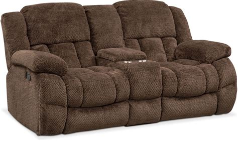 recliner loveseat with console turbo reclining sofa reclining loveseat and glider