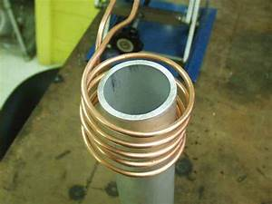 Induction Heating Aluminum Pipe With Igbt Induction Heater