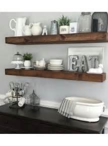 Mensola da cucina in legno massello effetto rustico colore