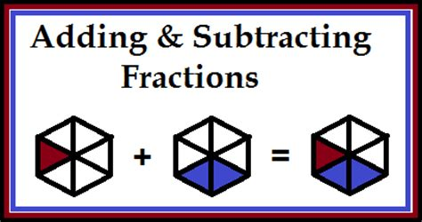 fraction quizzes adding and subtracting classroom freebies
