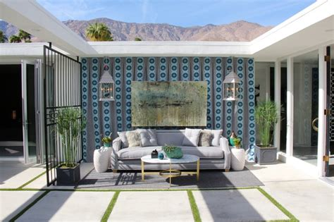 palm springs modernism showroom modern patio other