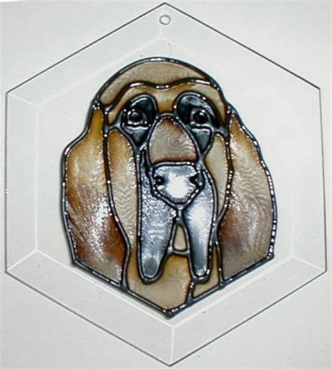 bloodhound suncatcher suncatcher petprints
