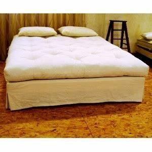 Futon 1 Place : futon en coton naturel fabriqu main 1 place mobilier et d co ~ Teatrodelosmanantiales.com Idées de Décoration