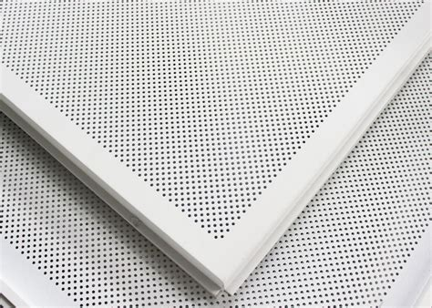 Soundproof Suspended Ceiling Tiles by Soundproof Perforated Lay In Ceiling Tiles Floating 2x2