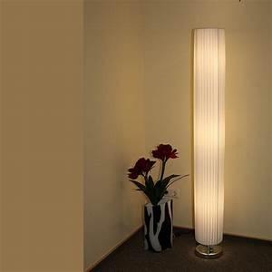 Stehlampe Mit Weißem Schirm : stehleuchte bodenleuchte stehlampe stoffleuchte lichts ule lampe leuchte ebay ~ Bigdaddyawards.com Haus und Dekorationen