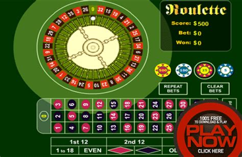 Play Online Roulette For Free Using Our Roulette Game
