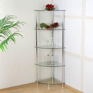 étagère En Verre Ikea : etag re d 39 angle murale en verre 137cm achat tag re d 39 angle pas cher ~ Teatrodelosmanantiales.com Idées de Décoration