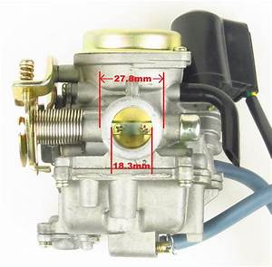 Carb Carburetor 18mm Gy6 Scooter 49 50cc Seaseng Jcl