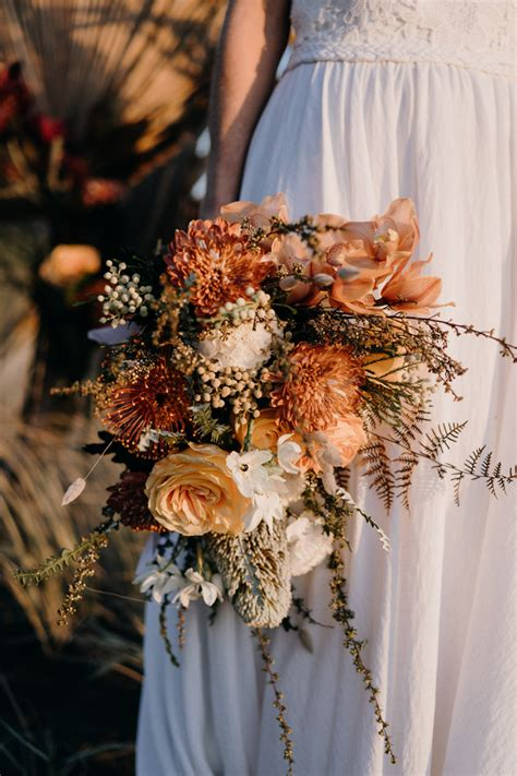 Maybe you would like to learn more about one of these? Boho New Zealand Beach Wedding Inspiration   Junebug ...