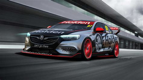 holden commodore  supercars racer uncovered car news