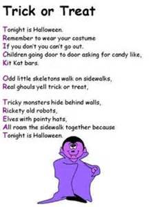 Halloween Acrostic Poem Examples by Printable Activities Poems For Kids Halloween