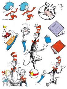 Dr. Seuss Cat in the Hat Characters