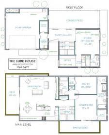modern home floor plans modern house