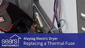 How To Replace A Maytag Electric Dryer Thermal Fuse