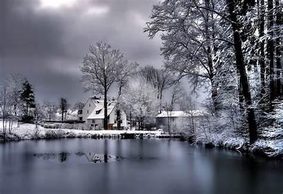 Winter Wallpapers Desktop Backgrounds Background Scenes Desktops
