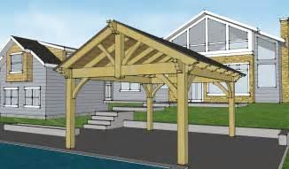 Pavilion Pergolas Plans