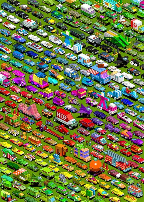 wonderful examples  isometric pixel arts pixel curse