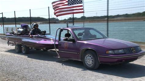 Boat Car And Truck by Half Car Drag Boat Hauler