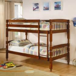 medium pine twin over twin bunk bed bunk beds