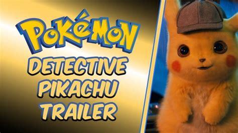 detective pikachu trailer proves  pokemon shouldnt  real