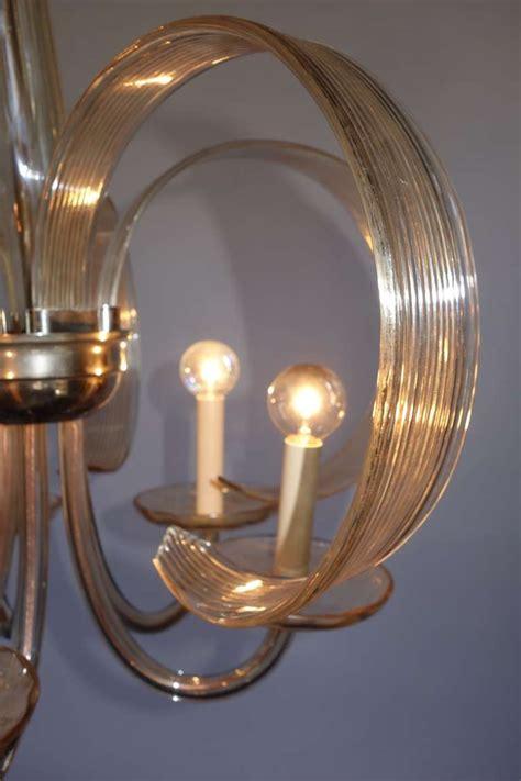 blown glass chandelier blown glass chandelier at 1stdibs