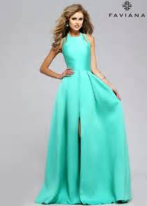 trendy bridesmaid dresses 2016 trendy spearmint inspired frosted satin prom dress faviana 7752 spearmint