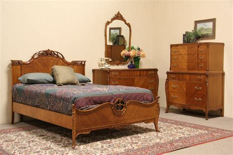 Sold French Style 1940 Vintage 4 Pc Full Size Bedroom