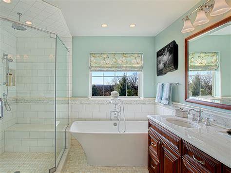 master bathroom makeover  luxurious tub joan suzio