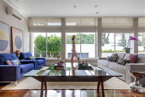 sala sofa cinza e poltrona azul 3916 melhores imagens de living room sala de estar no