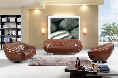 brown leather decor living room decor ideas with brown furniture