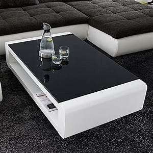 Couchtisch Weiß Mit Glasplatte : couchtisch wei hochglanz mit glasplatte soleil 140x80cm ~ Whattoseeinmadrid.com Haus und Dekorationen