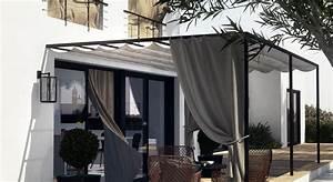 store pour terrasse pas cher 3 rideaux exterieur kirafes With store pas cher exterieur
