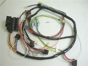 1959 Impala Belair El Camino Under Dash Wiring Harness
