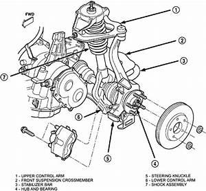 2002 Dodge Stratus Front Suspension Diagram
