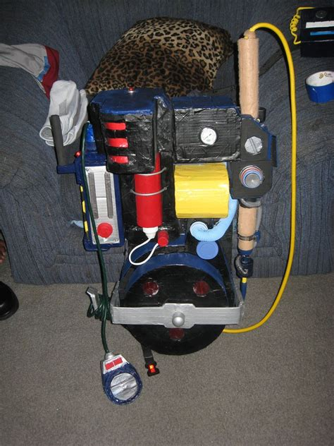 How To Make Ghostbusters Proton Pack by The Real Ghostbusters Proton Pack Completed Proton Pack
