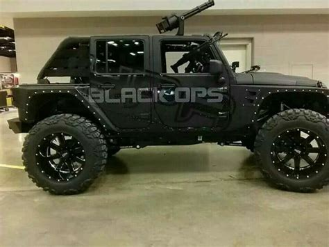zombie response jeep hpr black ops jeep wrangler custom tactical vehicles
