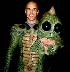 Derek Mears in Spectral Motion's Edward the Troll suit ...